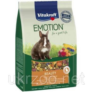 Корм Вітакрафт Емоушн для декоративних гризунів, кроликів, що мають довгу шерсть, 600 г, 33745