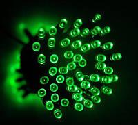 Гирлянда светодиодная уличная 10 м 100 LED белая Зелёный