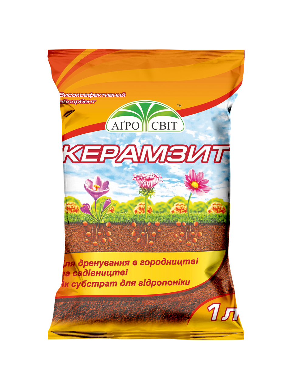 Керамзит, 1 л
