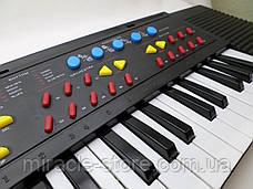 Детский синтезатор в ритме детства с микрофоном 44 клавиши Tilly, фото 2