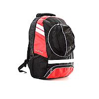 Рюкзак спортивный WGH для футбола Черно-красный