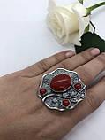 Комплект серебряных украшений Аура коралл от Ирида-В, фото 3