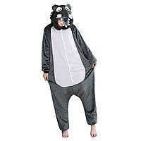 Кигуруми Волк для взрослых костюм пижама комбинезон подростковый кигуруми