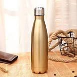 Спортивный термос-бутылка с двойными стенками 500 мл,, фото 2