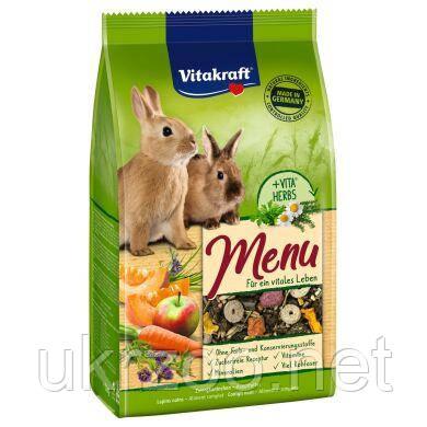 Корм Вітакрафт преміум меню для декоративних гризунів, кроликів, 5 кг, 25665