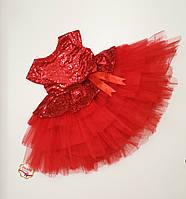 Детское нарядное платье с пайетками размер 104,110(на 4,5 лет) Турция ЗАМЕРЫ В ОПИСАНИИ