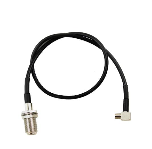Антенный адаптер (pigtail) TS-9 серия 359921 тип F (Pantech UML290, UMW190, UM185)