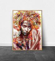 Картина по номерам Babylon Экзотическая красота DZ1605 40*50. На холст с подрамником.