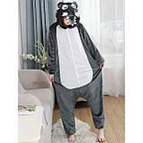 Кигуруми Волк для взрослых костюм пижама комбинезон подростковый кигуруми, фото 2