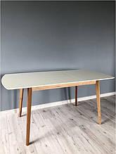 Стол обеденный Intarsio Exen II 120(160)х80 см Белый Кремовый