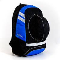 Рюкзак спортивный WGH для футбола Черно-синий