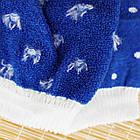 Носки женские махровые новогодние высокие Добра Пара 23-25р санта с оленем 20039653, фото 5