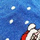 Носки женские махровые новогодние высокие Добра Пара 23-25р санта с оленем 20039653, фото 6