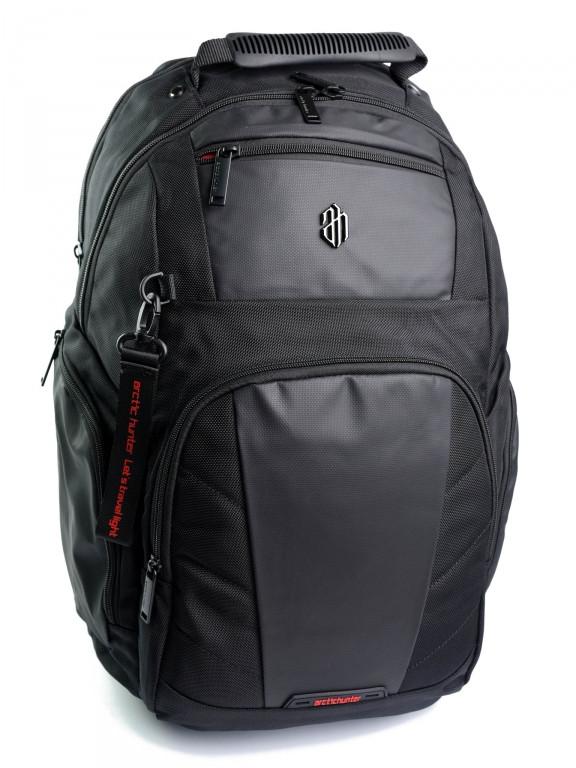Рюкзак міський B00341 чорний
