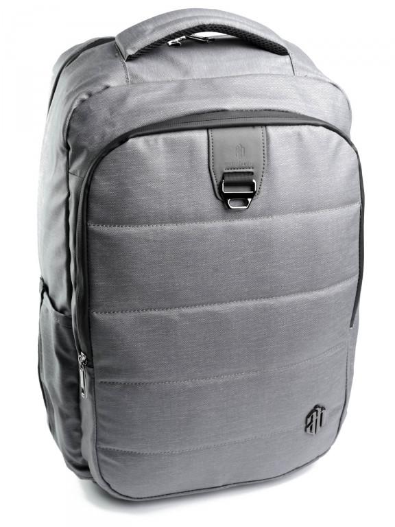 Рюкзак городской нейлон Case B00265 серый