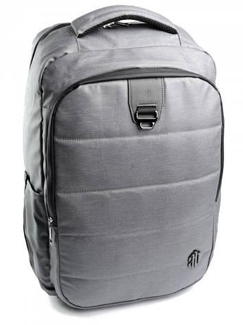 Рюкзак городской нейлон Case B00265 серый, фото 2