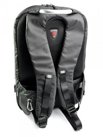Рюкзак городской нейлон Case B00208 черный, фото 2