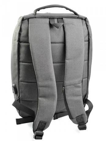Рюкзак городской нейлон Case 1701 черный, фото 2