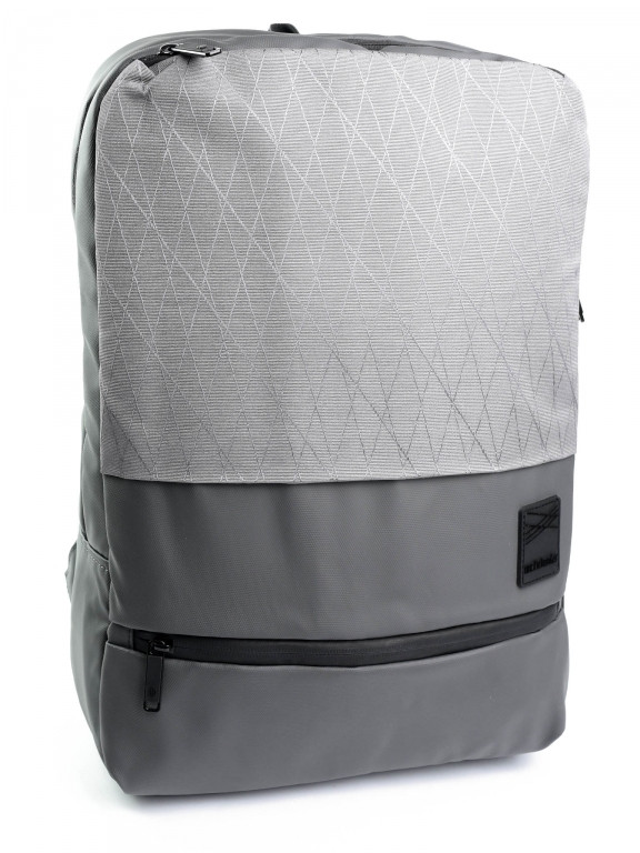 Рюкзак городской нейлон Case B00360 серый