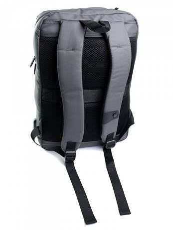 Рюкзак городской нейлон Case B00360 серый, фото 2