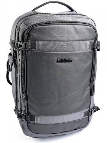 Рюкзак міський B-00188 сіра, фото 2