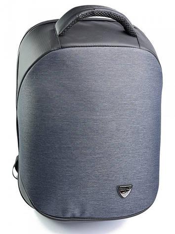 Рюкзак городской нейлон Case B00193 синий, фото 2
