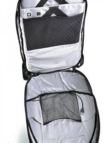 Рюкзак городской нейлон Case B00193 черный, фото 2