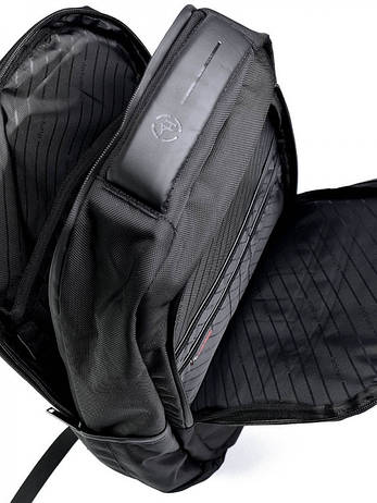 Рюкзак городской нейлон Case B00120C черный, фото 2