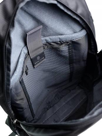 Рюкзак городской нейлон Case B00386 черный, фото 2