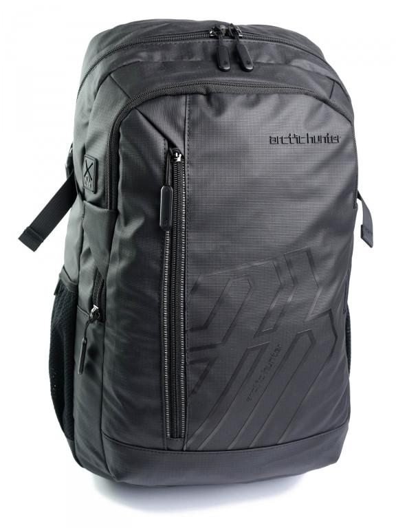 Рюкзак міський B00387 чорний