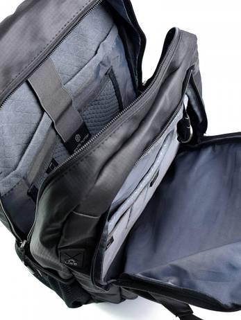 Рюкзак городской нейлон Case B00387 черный, фото 2