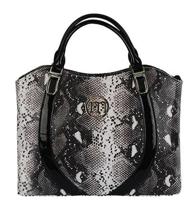 Женская сумка из экокожи Monnari MON 6450 J15 Белый+черный