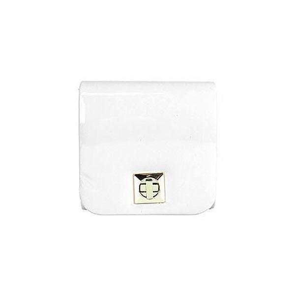 Женская сумка-клатч из экокожи Eternel 77745 Белый