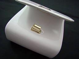 Женская сумка-клатч из экокожи Eternel 77745 Белый, фото 3