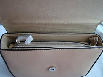 Жіноча сумка з екошкіри David Jones 5025-2 Темно-бежевий, фото 2