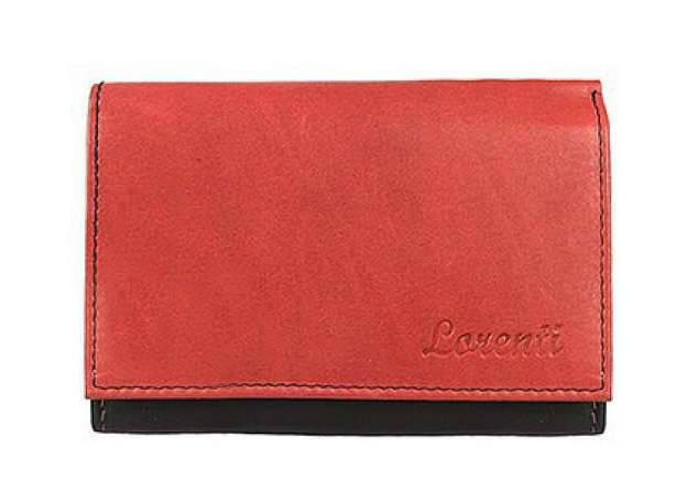 Жіночий шкіряний гаманець Lorenti LT-09-CCF Червоний, фото 2