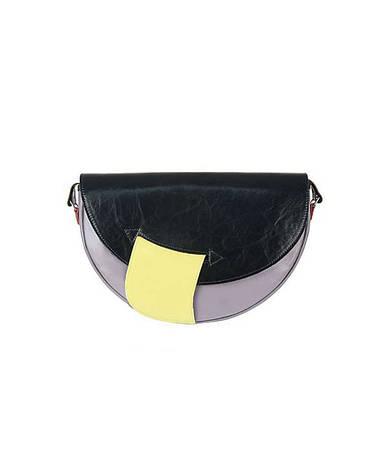 Жіноча шкіряна сумка Slon Torbalski 00-966 Сірий, фото 2
