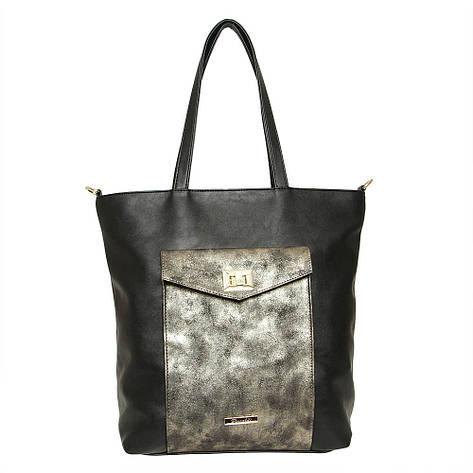 Жіноча сумка з екошкіри Riccaldi 1950 Золотий, фото 2