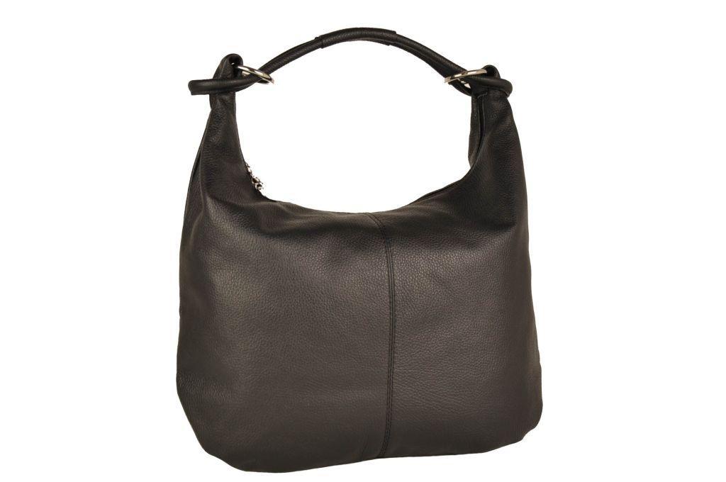 Женская кожаная сумка Toscanio 1632 Черный