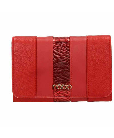 Жіночий гаманець з екошкіри Nobo NPUR 0590 17JZ Червоний, фото 2