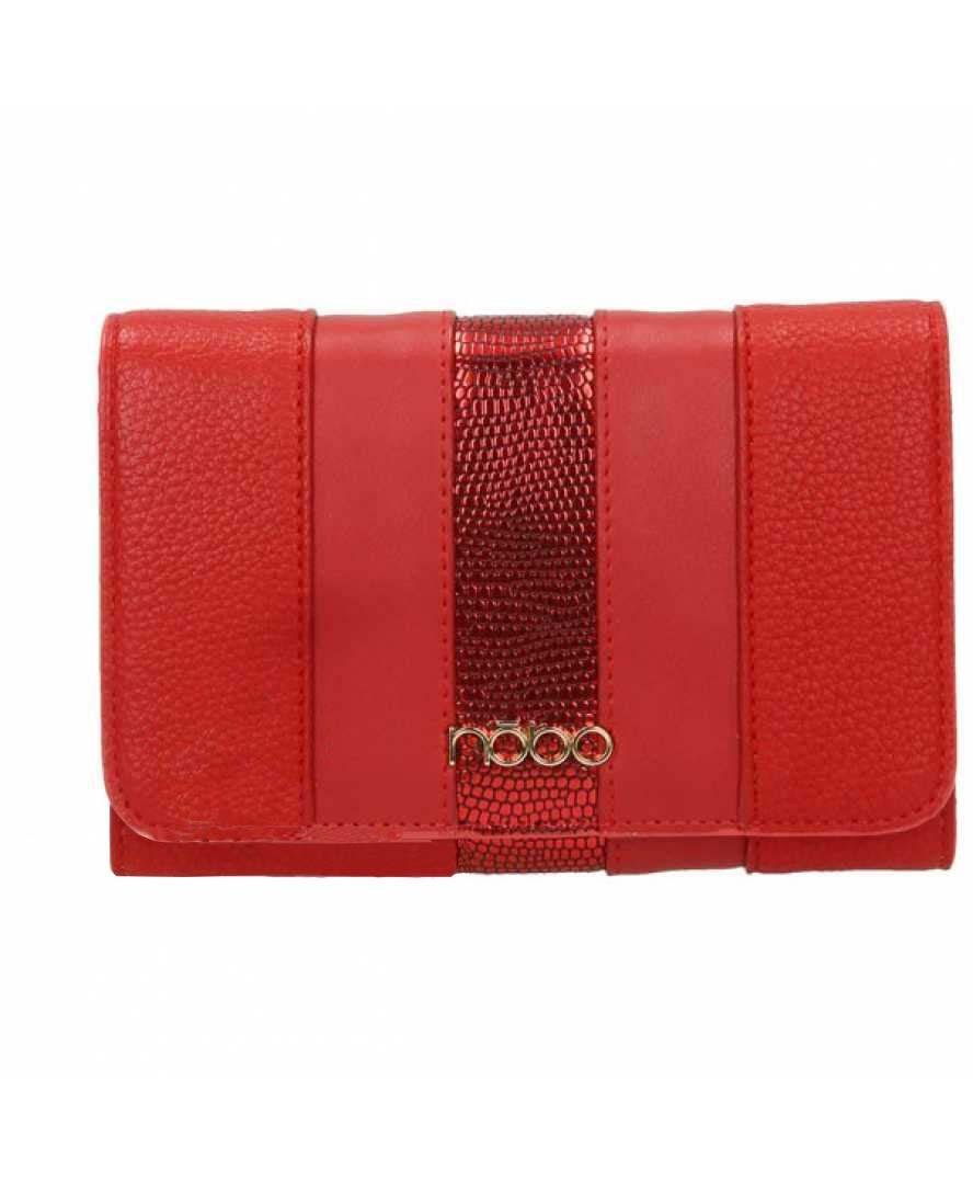 Жіночий гаманець з екошкіри Nobo NPUR 0590 17JZ Червоний
