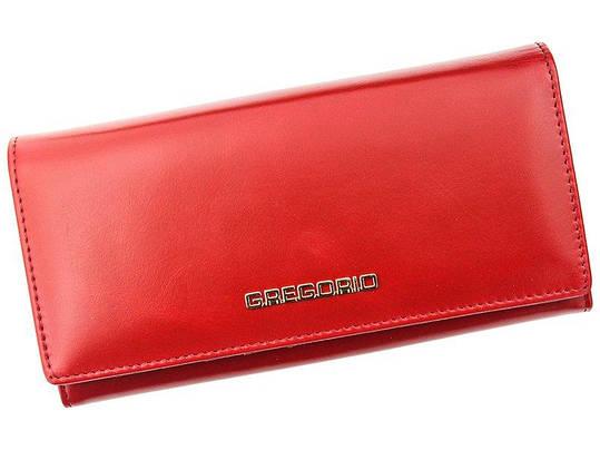 Жіночий шкіряний гаманець Gregorio N102 Червоний, фото 2