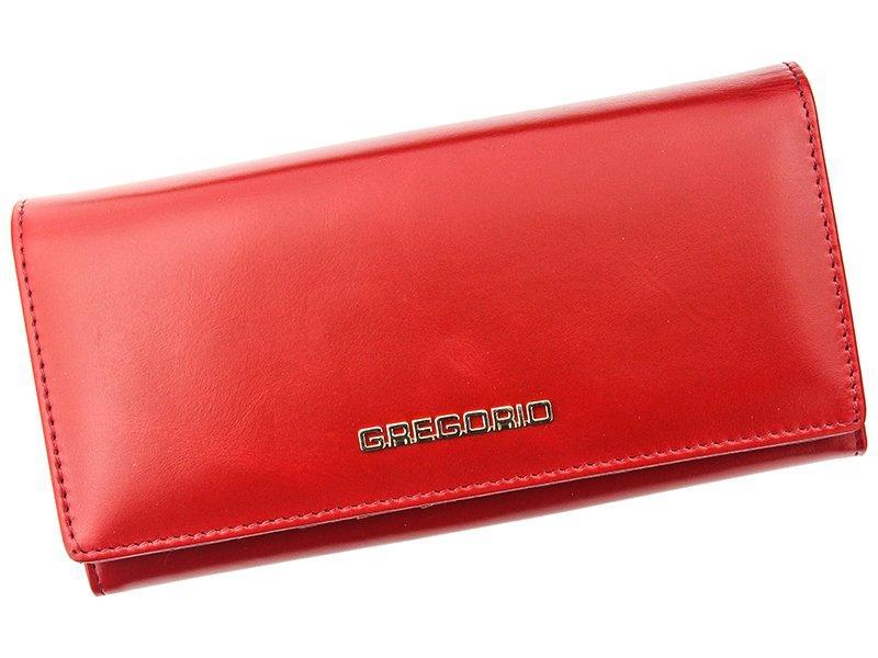 Жіночий шкіряний гаманець Gregorio N102 Червоний