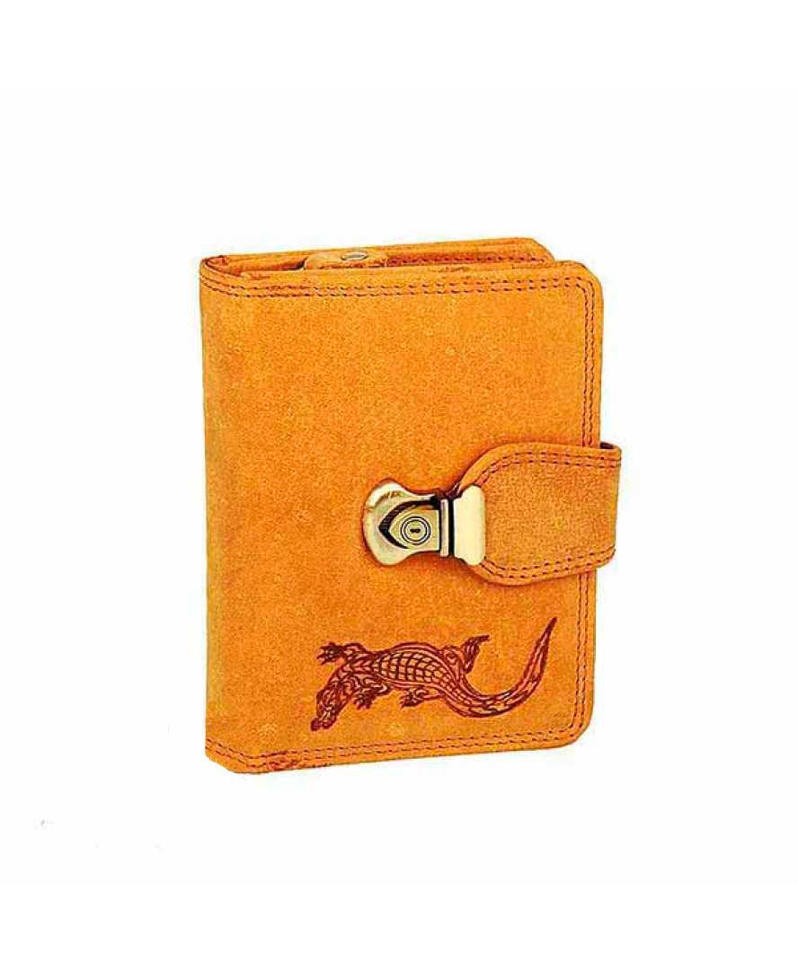 Жіночий шкіряний гаманець Wild N404 CH Світло-коричневий