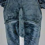 Кигуруми Волк для взрослых костюм пижама комбинезон подростковый кигуруми, фото 6