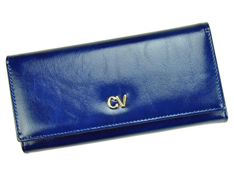Жіночий шкіряний гаманець Cavaldi P24-17 Синій