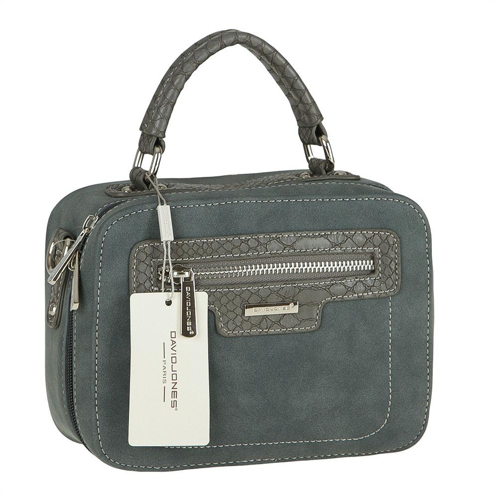 Женская сумка из экокожи David Jones CM3510 Синий