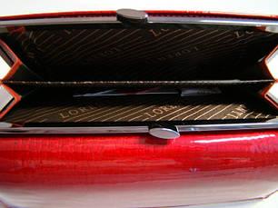 Жіночий шкіряний гаманець Lorenti 72064-RS Червоний, фото 3