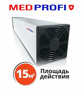 Бактерицидный рециркулятор воздуха MEDPROFI 8 Вт  настенный  Облучатель-рециркулятор бактерицидныый до 15м2