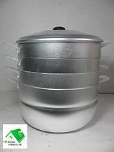 Мантоварка на 6 литров (ДЕМИДОВ) - 3 яруса